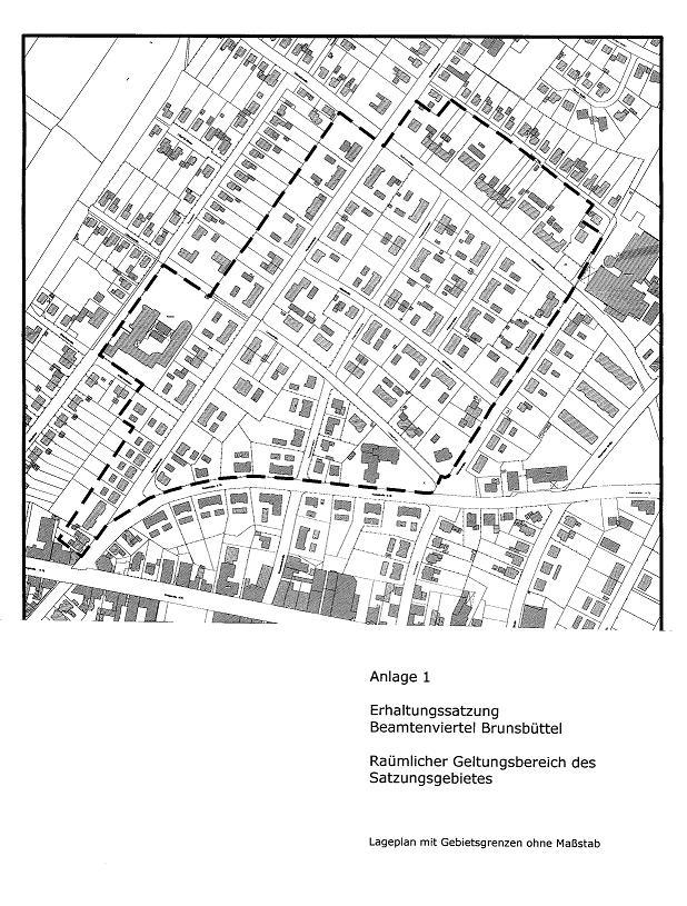 Übersichtsplan Beamtenviertel