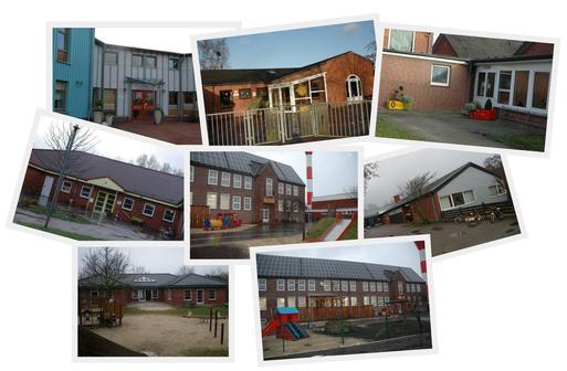 Collage Kindertagesstätten