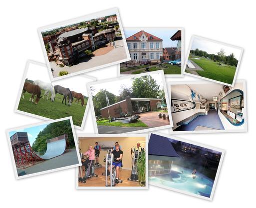 Collage Freizeitmöglichkeiten