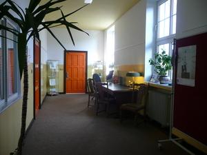 Besucher Arbeitsplatz